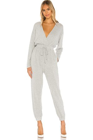 MAJORELLE Willie Jumpsuit in Gray.