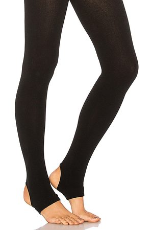 Plush Fleece Lined Stirrup Tights in .