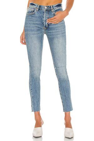 Free People Stella Skinny Jean in Blue.