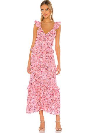 MISA Morrison Dress in Pink.
