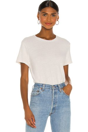RE/DONE 1950's Boxy Tee in White.