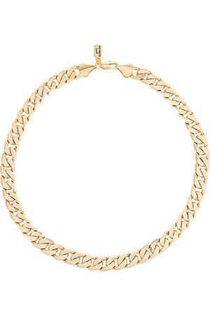petit moments Amber Chain Necklace in Metallic .