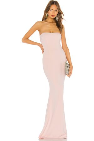 Katie May Women Evening dresses - Mary Kate Gown in Blush.
