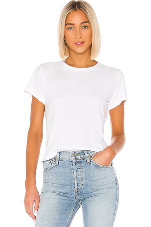RE/DONE The Classic Tee in White.