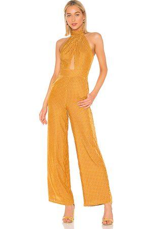 House of Harlow X REVOLVE Karen Jumpsuit in Yellow.