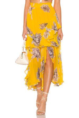 MISA Randi Skirt in Yellow.