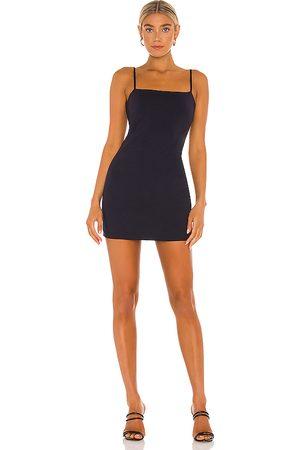 Susana Monaco Thin Strap Mini Dress in Navy.