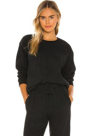 SNDYS LOUNGE Luxe Fleece Crew Sweatshirt in .