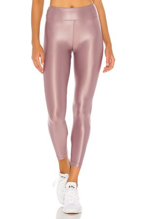 Koral Lustrous Infinity High Rise Legging in Mauve.
