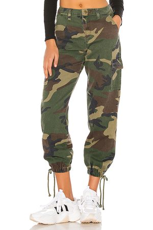 superdown Kayla Jogger Pant in Green.
