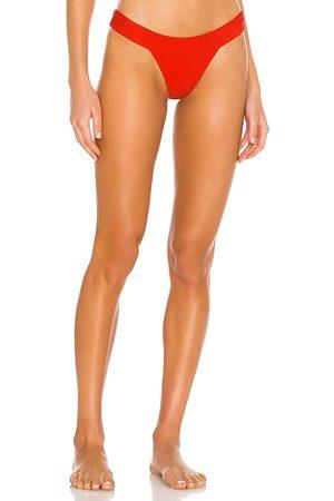 Lovers + Friends Sade Bikini Bottom in Red.