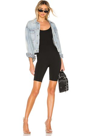 superdown Nadia Biker Short Romper in .