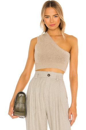 One Grey Day X REVOLVE Sedona Tank in Taupe.