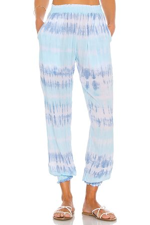 coolchange Bodrum Tie Dye Pant in Baby Blue.