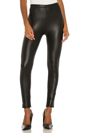 Plush Women Leggings - Fleece Lined Liquid Legging in .