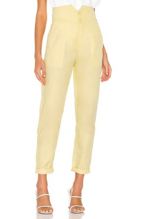 L'Academie The Cerise Pant in Yellow.