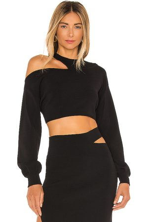 Michael Costello X REVOLVE Asym Cut Out Dolman Sweater in .