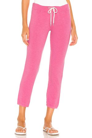 MONROW Supersoft Vintage Sweatpant in Pink.