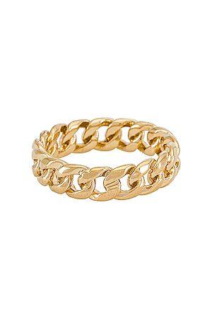 MIRANDA FRYE Rowen Ring in Metallic .
