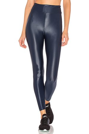 Koral Lustrous High Rise Legging in Blue.