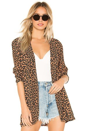 Beach Riot X REVOLVE Blake Blazer in Brown.