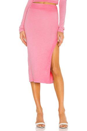 Cotton Citizen X REVOLVE Melbourne Midi Skirt in Pink.