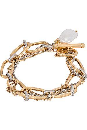 8 Other Reasons Monroe Bracelet in Metallic .