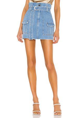 Frame Paperbag Skirt.