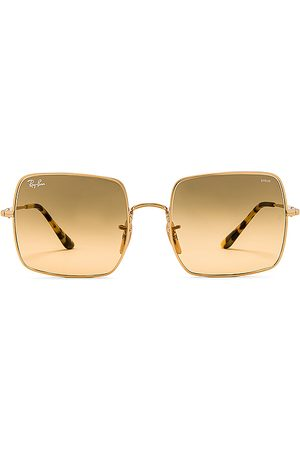 Ray-Ban Square Evolve in Metallic Gold.