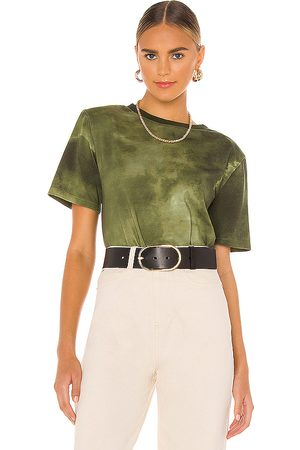 Lovers + Friends Roxy Tee in Olive.