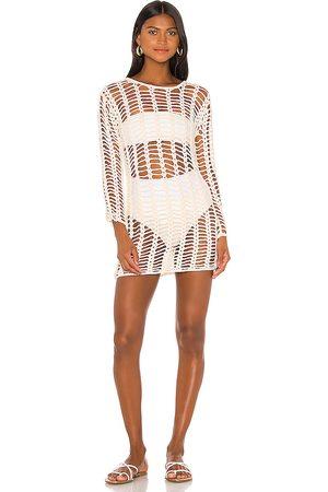 superdown Miranda Crochet Mini Dress in .