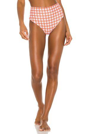 LPA Sybil High Waist Bottom in Orange.