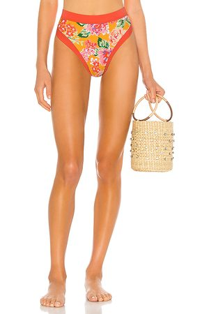 Lovers + Friends Little Me High Waist Bikini Bottom in .