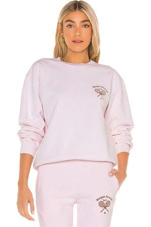Morgan Stewart Sport Sweatshirt in Pink.