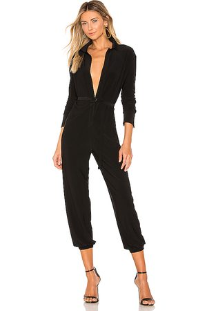 Norma Kamali Shirt Jog Jumpsuit in .