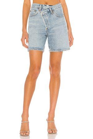 AGOLDE Women Shorts - Criss Cross Short.