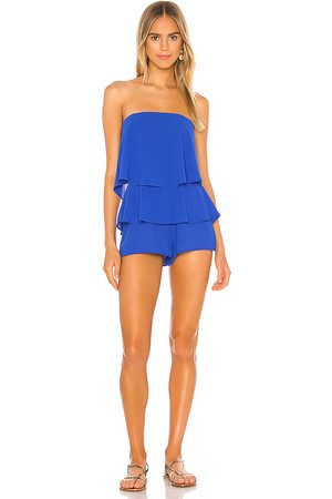 superdown Jocelyn Romper in Royal.