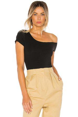 superdown Felicia Asymmetrical Bodysuit in .