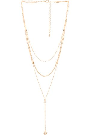 8 Other Reasons Women Necklaces - Shrine Lariat in Metallic .