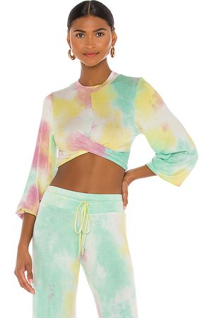Beach Riot Marley Top in Green.
