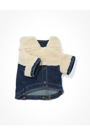 American Eagle Outfitters ABO Denim Sherpa Doggy Jacket Women's XS