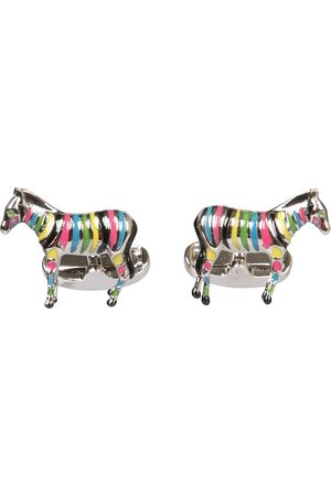 "Paul Smith ""zebra"" cufflinks"