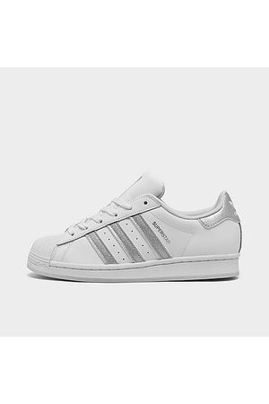 adidas Girls' Big Kids' Originals Girls Are Awesome Casual Shoes in Size 4.0 Leather