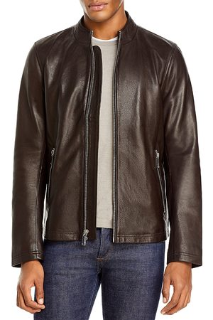 Karl Lagerfeld Leather Moto Jacket