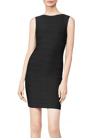 Hervé Léger Icon Sleeveless Sheath Dress