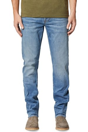 Hudson Byron Straight Fit Zip Fly Jeans in Interfer