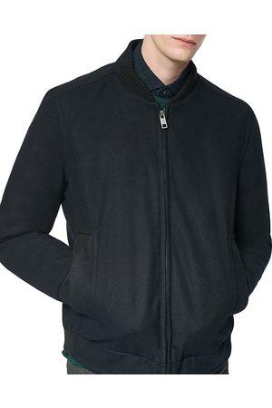 Marc Jacobs Barlow Melton Bomber Jacket