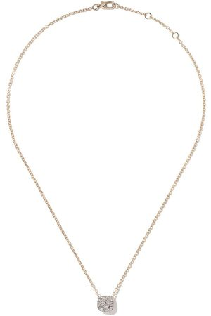 Pomellato 18kt rose gold and 18kt gold Nudo necklace