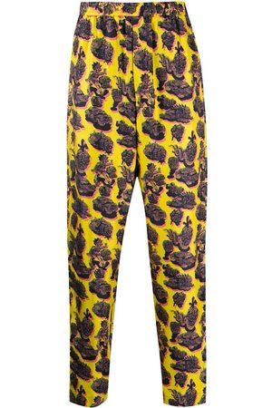 Stella McCartney Pants - Graphic print trousers