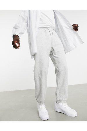 Weekday Standard sweatpants in melange-Grey